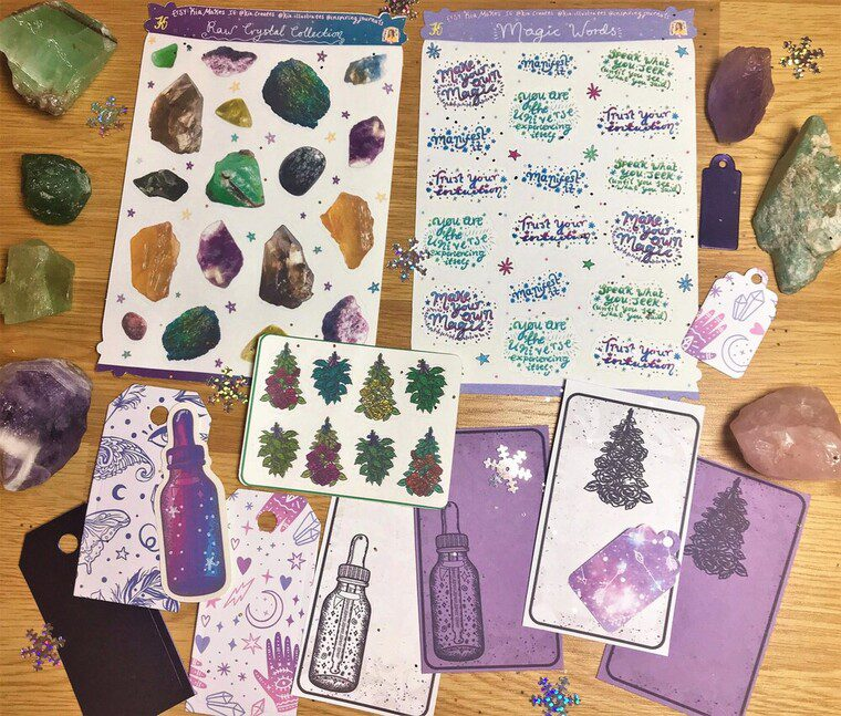 Making Magic Journal Kit November 2020 - Kia Creates - Inspiring Journals