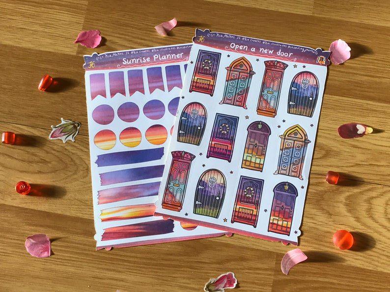 New Beginnings Art Journal Kit for January 2021 Journal Club by Kia Creates