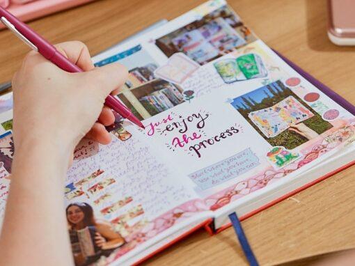 "Canon x Kia Creates: ""Embrace mindfulness with creative journaling"""